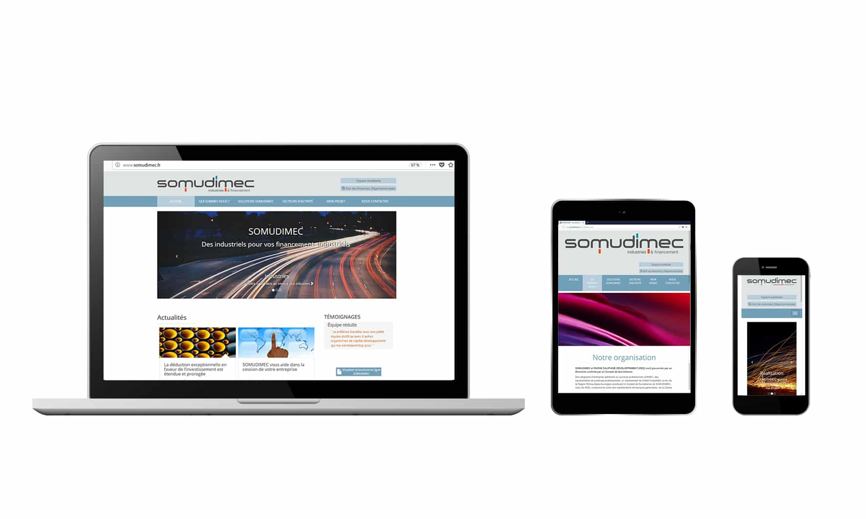 Site Internet - Somudimec